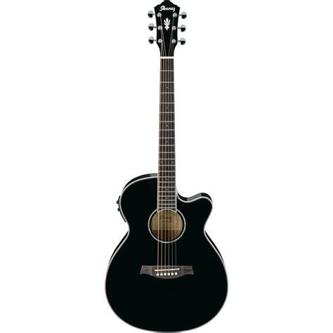 Gitar Akustik Elektrik Spull New 1 ibanez aeg10ii acoustic electric guitar black aeg10iibk b h