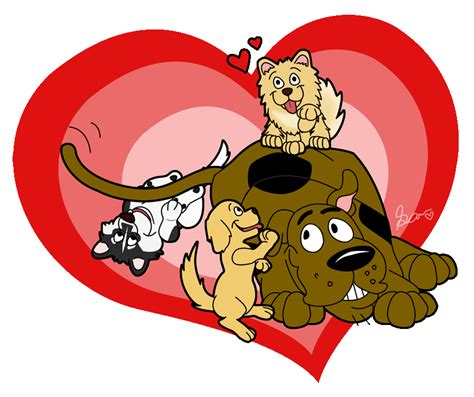 scooby doo valentines day puppy scooby doo by amisam on deviantart