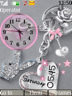 love themes s40 download love dual clock nokia s40 themes mobile version