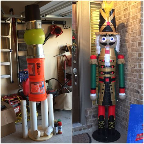 diy giant nutcracker christmas pinterest nutcracker
