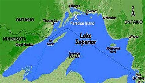 lake superior map st ignace island retreat nirivia lake superior location map this island on northern edge of
