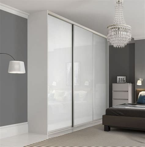 glass mirror wardrobe doors best 25 single door wardrobe ideas on sliding