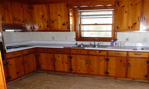 painting knotty pine kitchen cabinets painting knotty