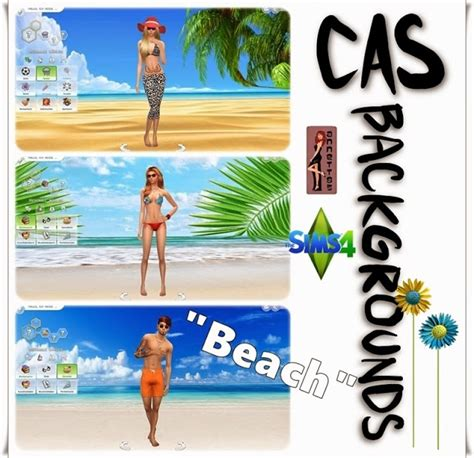 sims 4 beach cas backgrounds