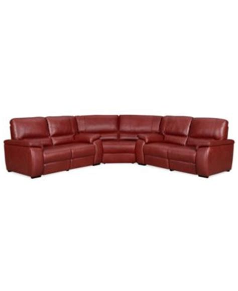 3 piece sectional sofa with recliner marchella leather reclining sectional sofa 3 piece power