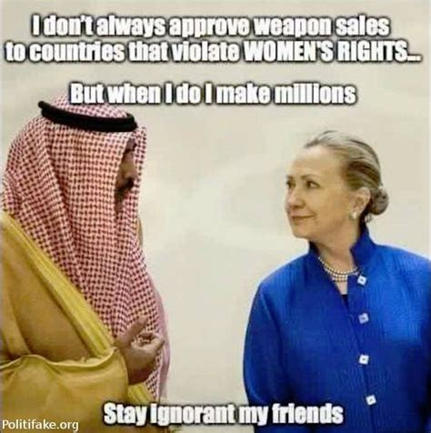 Womens Rights Memes - meme exposes truth about hillary s support for quot women s