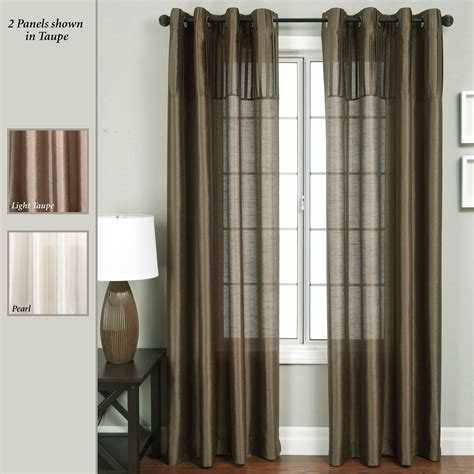 grommet drape civic grommet curtain panels