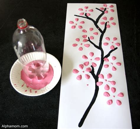How To Make A Cherry Blossom Tree Out Of Paper - make easy cherry blossom dollar store crafts