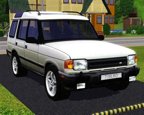 land rover 1997 fresh prince creations sims 3 1997 land rover discovery