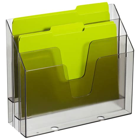 3 Section Container by Smoke 3 Section Vertical File The Container Store