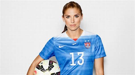 what makes u s forward alex morgan human