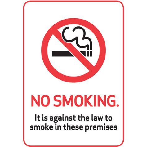 no smoking sign plastic no smoking plastic sign