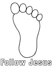 foot coloring page footprints coloring pages coloring home