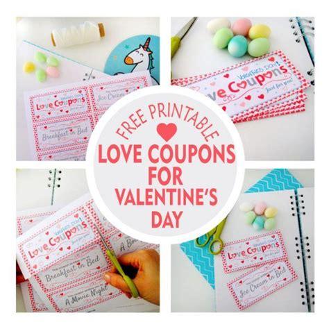 pinterest free printable love coupons free printable love coupons for valentine s day