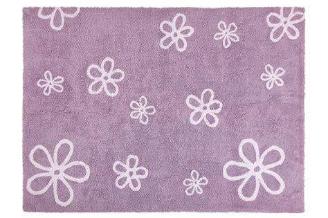 tappeti shop tappeto lavabile fiore lilla spaziojunior store
