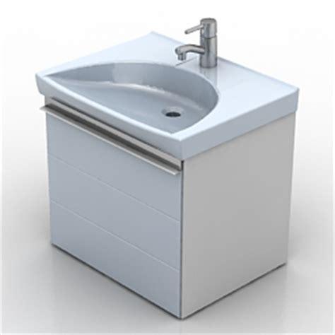 Kitchen Wash Basin Models 3d Sanitary Ware Wash Basin Ifo Sense 47404 N250112 3d