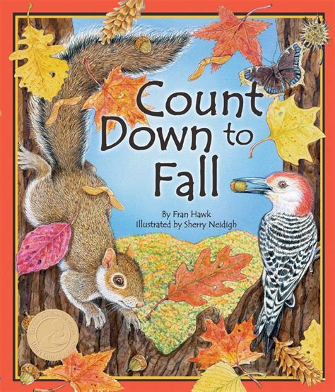fall of books count to fall by fran hawk fall picture books