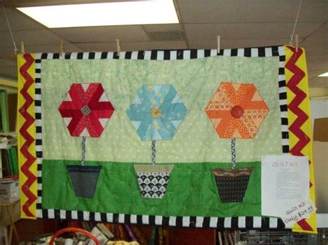 Patchwork Wall Hanging Kits - kit quilt flower pot wall hanging quilt kit and american