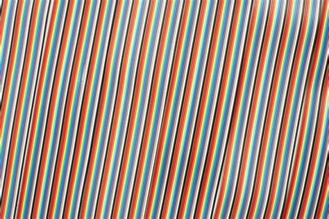 free image of up on colorful computer wire ribbon
