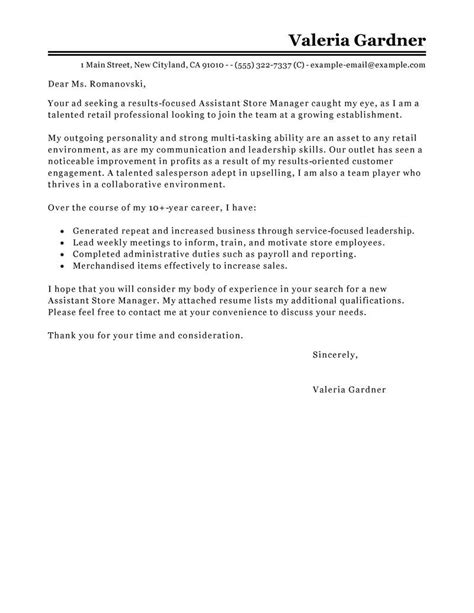 Branch Manager Cover Letter Service Manager Cover Letter Sle Cover Letter Templates
