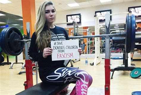 female bench press record world s strongest girl denied us sponsor contract after donbass visits 187 voice of