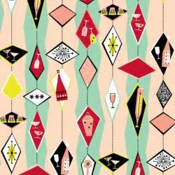 50s design 50s retro cocktail diamonds fabric pattern and design pinterest spoonflower cocktails and
