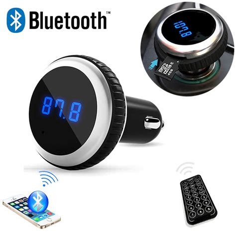 701e Bluetooth Car Kit Fm Transmitter Mp3 Player Car Charger car mp3 audio player bluetooth fm transmitter with remote