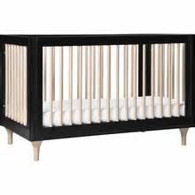 Black Modern Crib by Modern Cribs