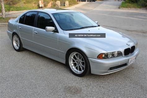 2002 bmw 530i base sedan 4 door 3 0l