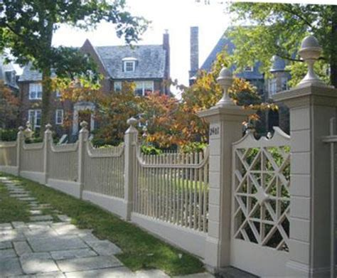 walpole woodworker historic linden house fence view 2 wood solid cellular