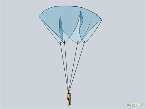 How To Make A Parachute With Tissue Paper - make a plastic bag parachute parachutes squares and