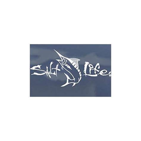 salt life decal salt life sa267 signature marlin decal