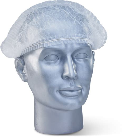 Mob Cap Hairnet Sekali Pakai dmc disposable mob cap white beeswift workwear hi viz and ppe uk