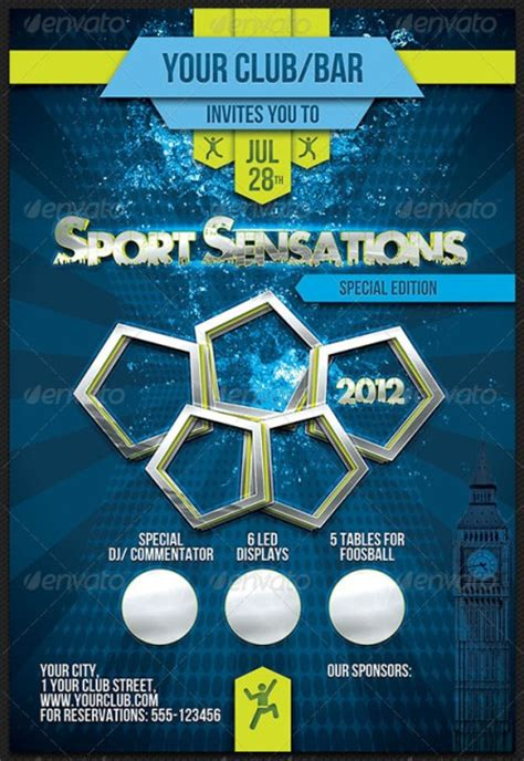 templates for sports flyers 20 electrifying print ready sports flyer templates