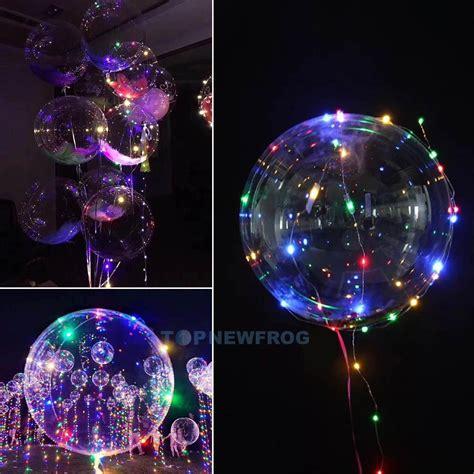 Luftballons Hochzeit Deko by Led Luftballons Helium Transparent Leuchtende
