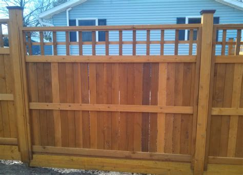 custom woodworking michigan custom wood fence design guide line fence