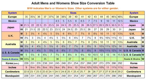 to womens shoe size conversion what are s shoe sizes for adidas nike converse