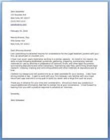 Legal Cover Letter Format   letter of recommendation
