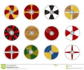 viking s shields stock photos image 4956203