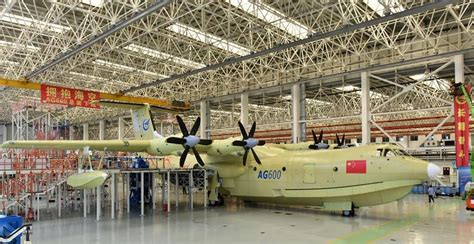 boat mechanic ta china s new seaplane is as big as a 737