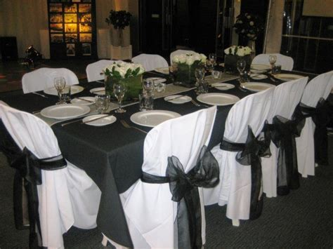 black tie gala decorations pinterest black napkins wedding table decorations and chairs