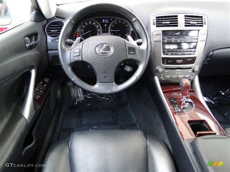 black lexus interior lexus is 250 2008 custom image 20