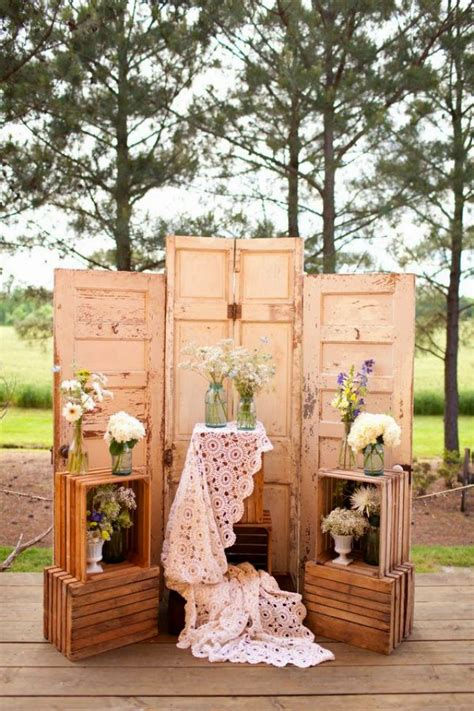 Wedding Backdrop Ideas Vintage by 20 Great Ideas To Use Wooden Crates At Rustic Weddings