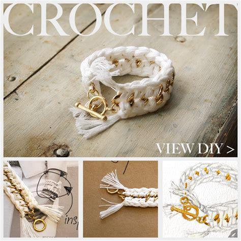 how to make crochet jewelry diy crochet bracelet