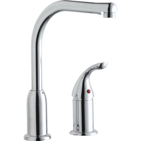 elkay faucets kitchen elkay lk3000cr everyday kitchen faucet with remote handle