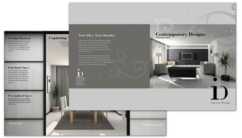brochure interior design image gallery interior design brochure