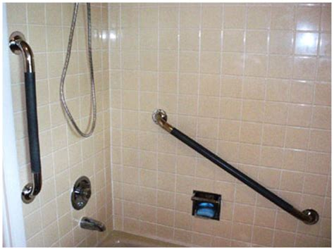 installing grab bar in bathroom grab bars sales installation home safety