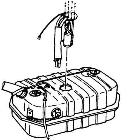 Isuzu Rodeo Fuel Tank How Do You Access The Fuel On A 1999 Isuzu Rodeo Ls