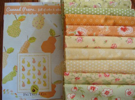 Fig Tree Quilts Fabric by Canned Pears Quilt Kit Moda Fabric By Fig Tree By