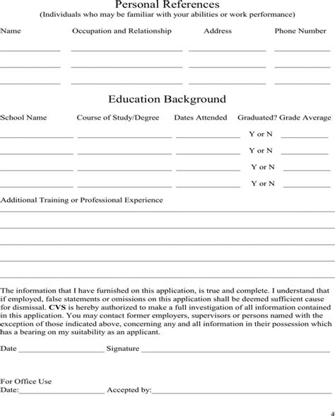 express pros application online download cvs employment application for free page 4